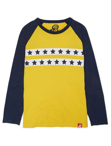 T-Shirt Star Stripe - Freesia Yellow