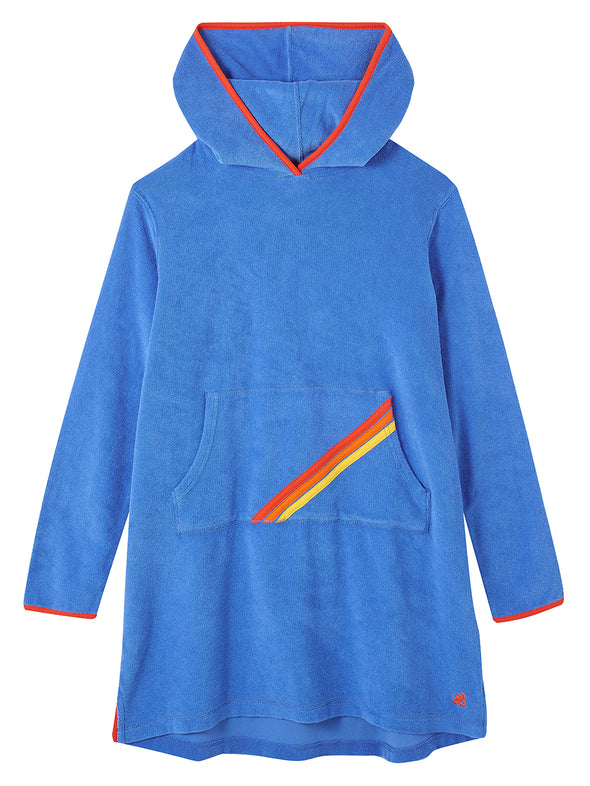 Beach Poncho - Marina Blue