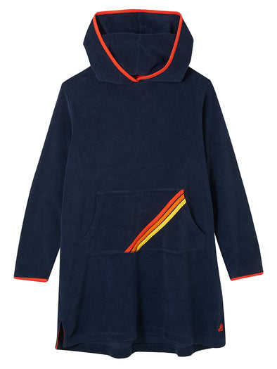 Beach Poncho - Dress Blue