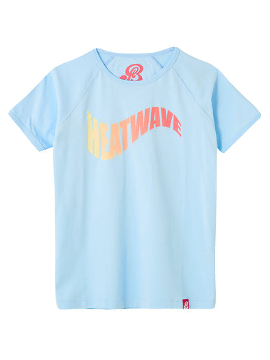 T-Shirt Heatwave - Corydalis Blue