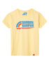 T-Shirt Sunset Surfer - Pale Banana