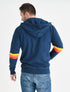 Men's Zip-Up Hoodie - Dress Blue
