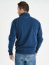 Men's Zip-Up Sweatshirt - Dress Blue