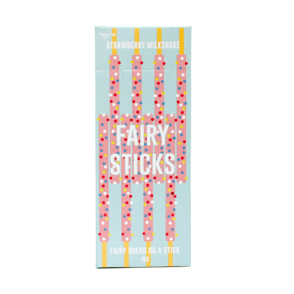 Fairy Sticks - Strawberry Milkshake (Multiples of 36)