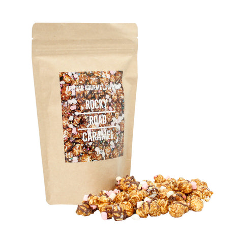Gourmet Popcorn - Rocky Road Caramel (Multiples of 12)