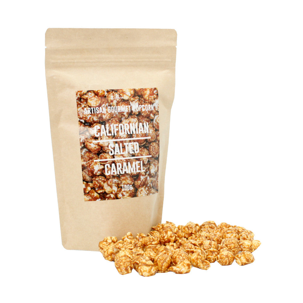 Gourmet Popcorn - Californian Salted Caramel (Multiples of 12)