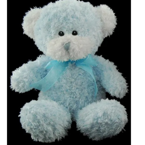 Scruffy Bear Blue