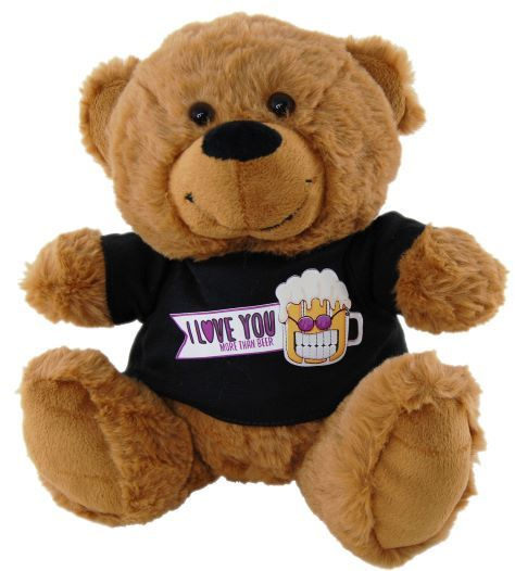 Love You More Than Beer Bear