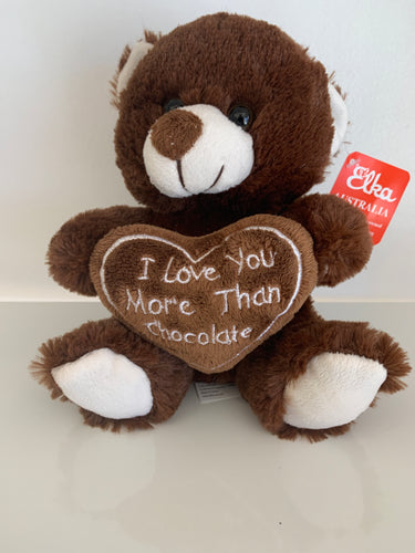 Bear I Love You More Than Chocolate