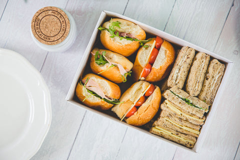 Finger Sandwich Box