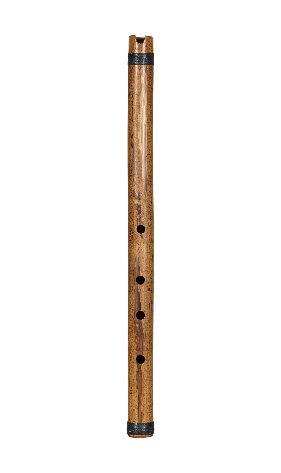 END BLOWN FLUTE Oriental Japanese Bamboo Body