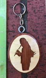 Erik the Flutemaker Key Chain