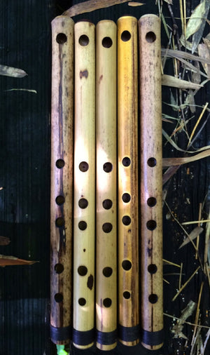 SIDE BLOWN FLUTE Chinese Bamboo Body