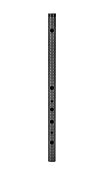 SIDE BLOWN FLUTE G# MINOR Vivaldi Carbon Fiber Body