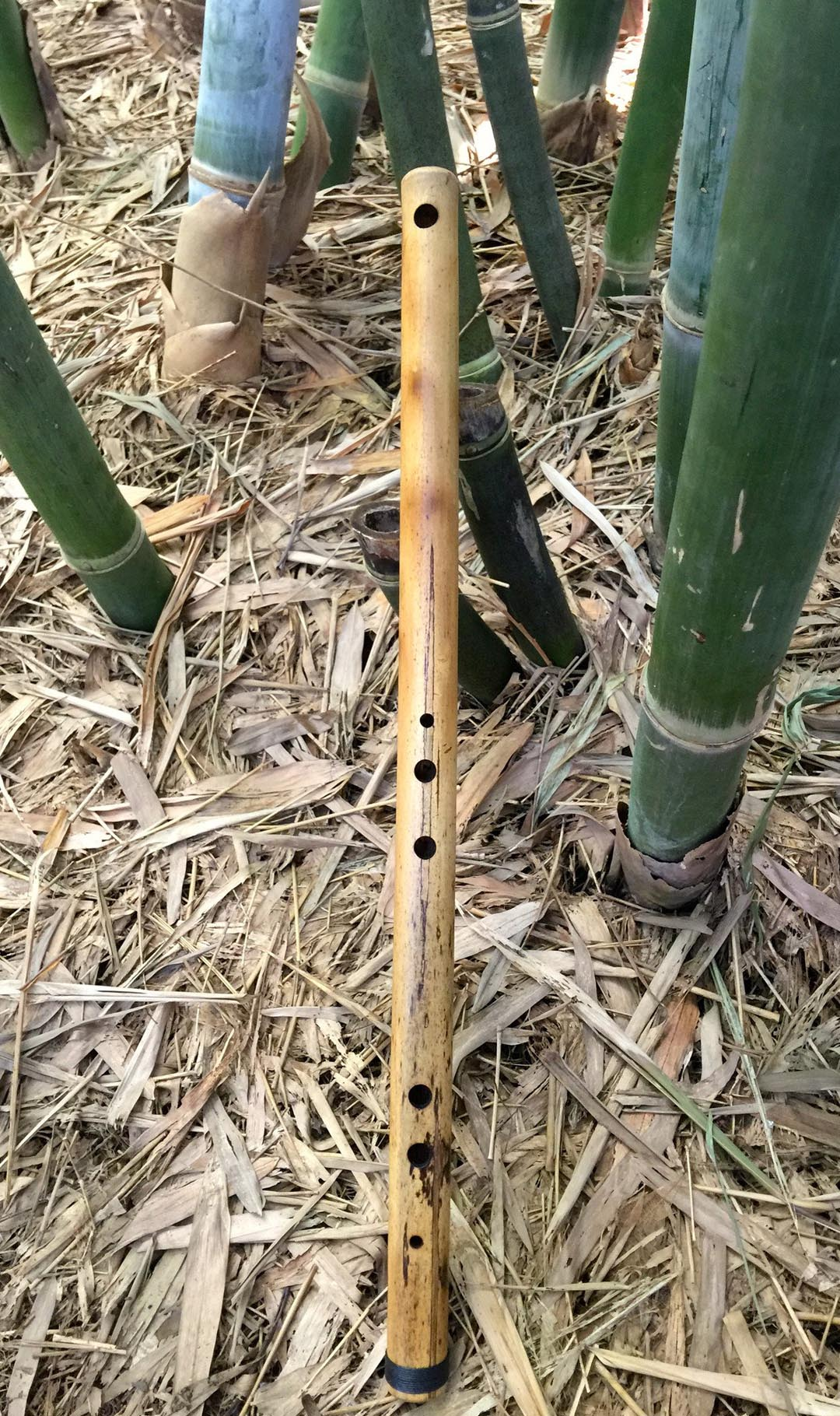 SIDE BLOWN FLUTE Meditation Flute Bamboo Body