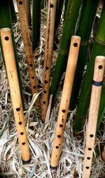 SIDE BLOWN FLUTE  Oriental minor pentatonic Bamboo Body