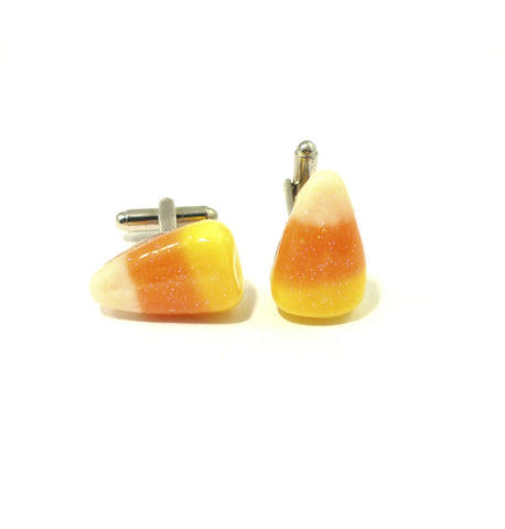 Candy Corn Cufflinks