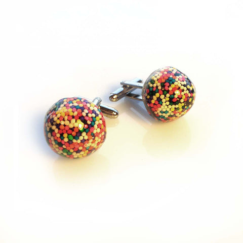 Sprinkle Licorice Cufflinks