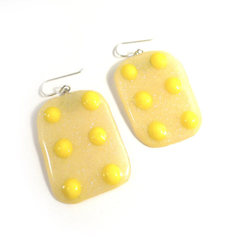 Button Candy Earrings