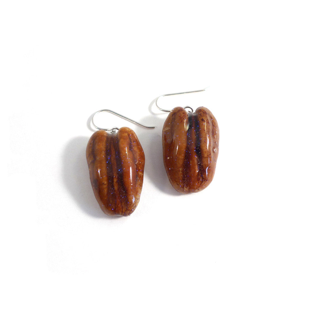 Pecan Earrings