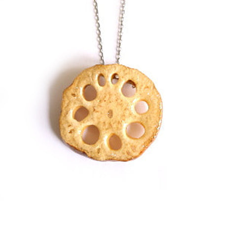 Lotus Root Necklace