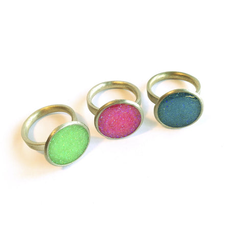 The Original Glitter Ring : Neon Colors