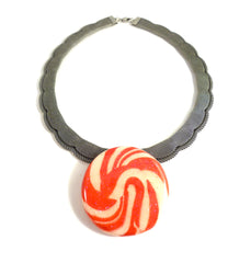 Lollipop Mesh Necklace