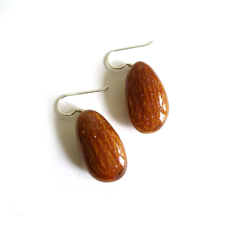 Almond Earrings