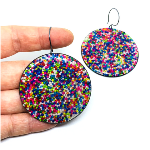 Jumbo Sprinkle Earrings