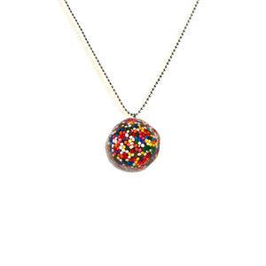 Sprinkle Licorice Candy Necklace