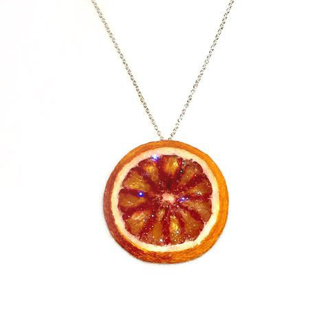 Blood Orange Necklace