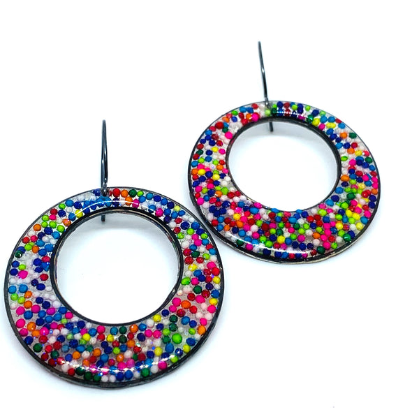 Sprinkles Loop Earrings