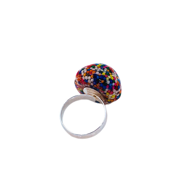 Sprinkle Licorice Candy Ring