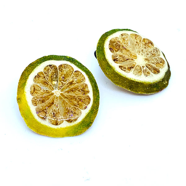 Keylime Stud Earrings
