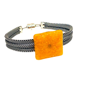 Cheese it Cracker Snack Bracelet