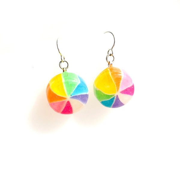 Japanese Pinwheel Post Earrings