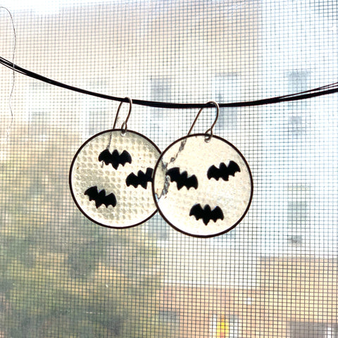 Bat Frenzy Earrings