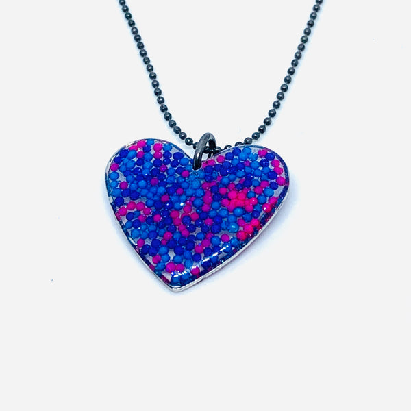 Sprinkle Heart Necklace