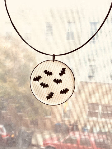 Bat Frenzy Neck Ring