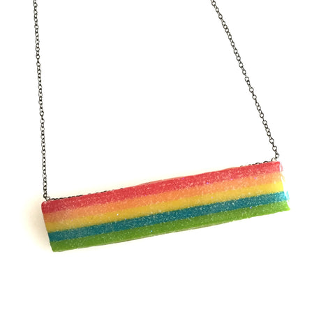 Rainbow Swing Candy Necklace