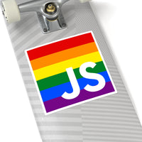 Gay Square Stickers