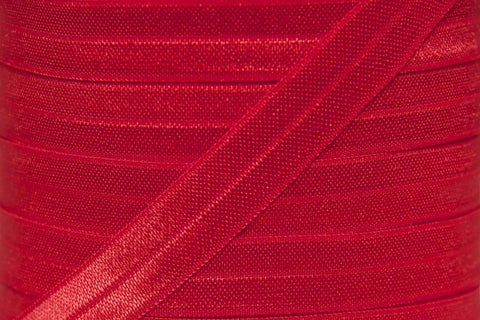 "Red 5/8"" Fold Over Elastic"