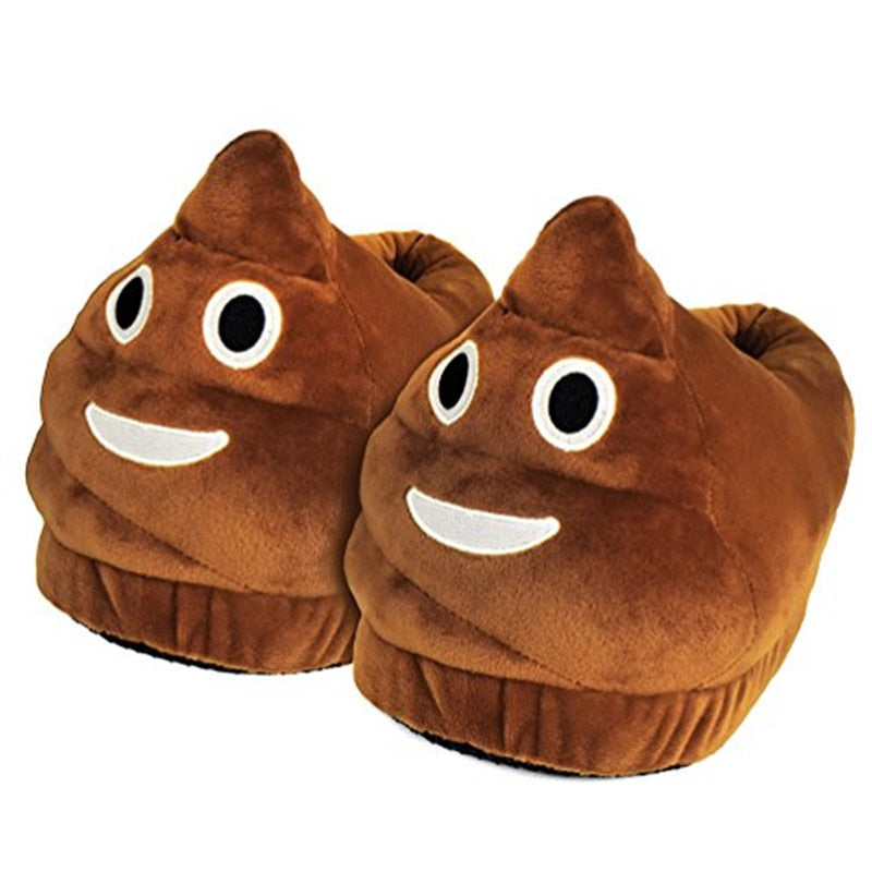 Cartoon Poop Slippers