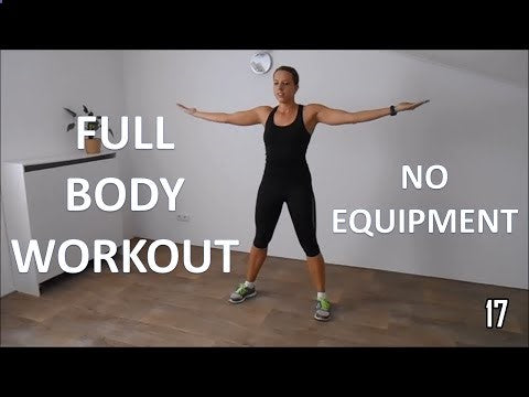 Full body workout for women – at home with no equipment