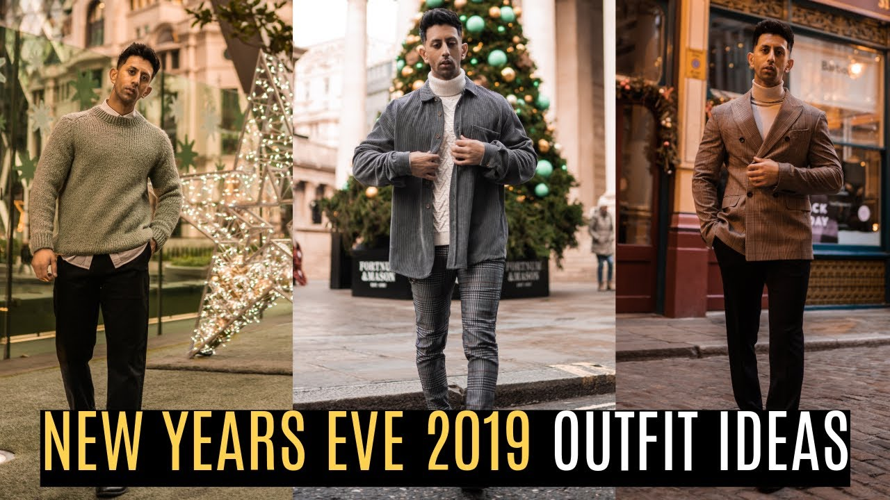 3 New Years Eve Outfits 2019 | Zara Outfits | Mens Fashion