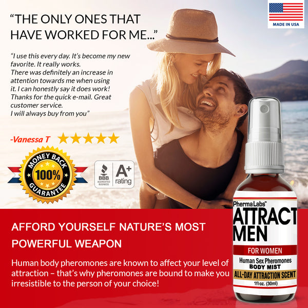 Attract Men Body Mist(45mg) *All Day Scent*