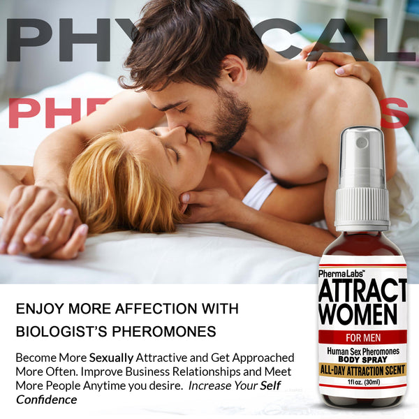 Attract Women Body Spray *All Day Scent*