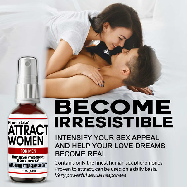 Attract Women Body Spray *All Night Scent*