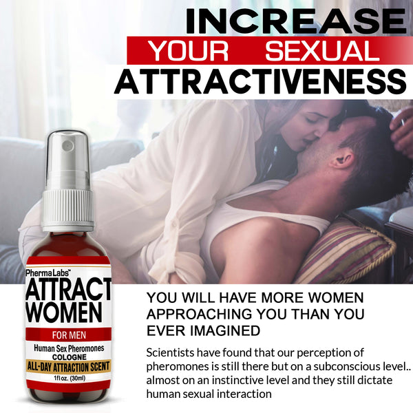 Attract Women Cologne(45mg) *All Day Scent*