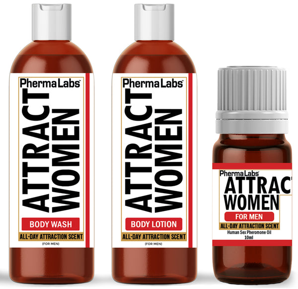 ATTRACT WOMEN *Mini Travel Kit* (All Day Scent)
